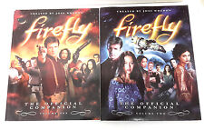2007 Serenity- Firefly Official Companion Vol 1 & 2- Reference Book Set (M5606)