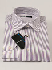 New Cerruti 1881 Stripe Long Sleeve Shirt 43 / 17