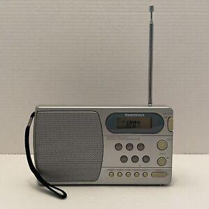 Vintage Radio Shack AM/FM/Clock Radio Alarm Cat.12-898 Tested Functional Antenna