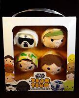 NEW Tsum Tsum Star Wars Plush Collectors Set, Rare!