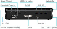 Targus Universal Docking Station USB-A 3.0, SV 2K, Dual Video DOCK171EUZ