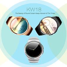 Orologio da polso GSM intelligente, Frequenza Cardiaca Bluetooth Contapassi per Monitor Iphone, Android