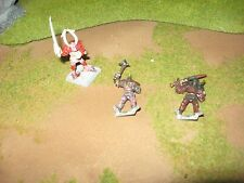 Warhammer Fantasy three vintage metal chaos knights