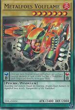 YU-GI-OH CARD: METALFOES VOLFLAME - RARE - TDIL-EN024