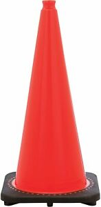 """Traffic Cone-JBC 28"""" 7lb Wide Body Package of 6"""
