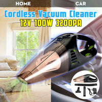 Cordless/Corded Car Vacuum Cleaner Handheld Rechargeable Wet&Dry Dust Clean Home