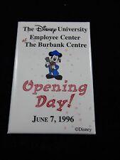 Disney University Opening Day 1996 Promo Pin Button RARE
