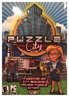 Puzzle City (PC, 2008) NEW SEALED RETAIL BOX - FREE U.S. SHIPPING - NICE