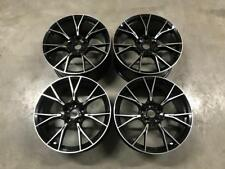 """19"""" 789M M5 Competition Style Alloy Wheels Gloss Black Machined BMW G30 G31"""