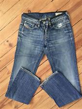 bonito jeans destroy usado DIESEL modelo bebel lavados a la piedra 0070Z TALLA