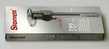 NUOVO Starrett Elettronico a corsoio 798B 6/150 IP67 con i dati di output. EDP 12521