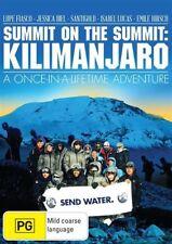 SUMMIT ON THE SUMMIT: KILIMANJARO DVD=JESSICA BIEL=REG. 0=BRAND NEW AND SEALED