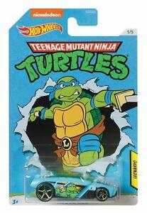 Hot Wheels TMNT Leonardo Rogue Hog Car GDG83 Teenage Mutant Ninja Turtles