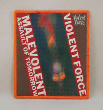 VIOLENT FORCE Malevolent Assault Of Tomorrow (Printed Small Patch) (New)