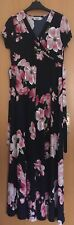 Happy Mama Maternity Nursing Ladies Floral Maxi Dress Size 12