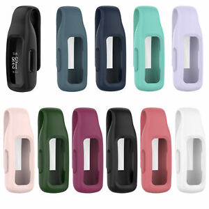 Silicone Protective Clip Protector on Pocket Cover Case for Fitbit Inspire 2