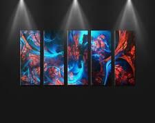 Metal Canvas Wall Art Exertion Framed Modern Contemporary Home Decor