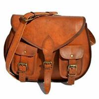Indian Real Genuine Leather Vintage Messenger ladies Shoulder Hippie Tote Bag