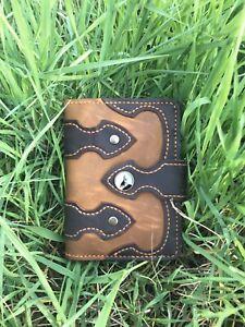 handmade biker wallet