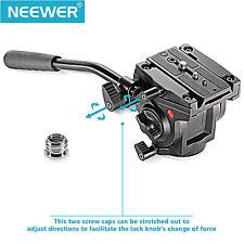 Neewer Video Camera Fluid Drag Tripod Head for Cameras, Tripods & Monopods