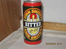John Smith's Bitter Yorkshire, Uk 440 ml steel beer can pull-tab bottom opened