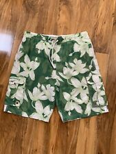 Mens Large Retro Board Shorts 36/38w