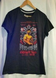 Nike Manny Pacquiao T-Shirt Dri-Fit Boxing Pac-Man Tee Men's XL Impact Day