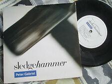 "Peter Gabriel Sledgehammer Virgin – PGS 1 Picture Sleeve 7"" Vinyl 45 single"