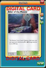 2X Altar Of The Moone 117/145 Pokemon Online Card TCG PTCGO Digital Card