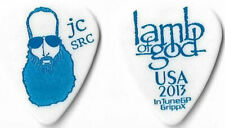 Lamb of God dark blue/white tour guitar pick
