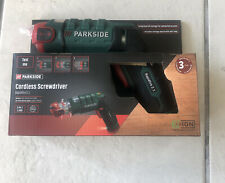 Parkside Cordless Rapidfire 2.1 Screwdriver  USB New German