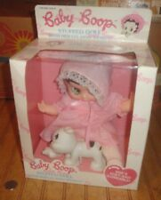 """1990 Marty Toy Baby Betty Boop 10"""" Doll with dog Pudgy in box"""