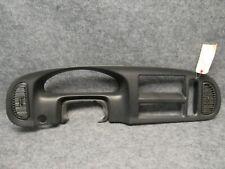 1999-2003 Dodge Ram Van Instrument Cluster Gauge Bezel Black OEM O821