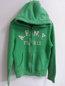 Abercrombie & Fitch Jacket Sweater Hoddie Young Boy Sz S. Muscle Full Zip