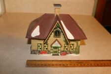 New Department 56 New England Village Apple Valley School House Building # 56172
