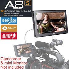 """Lilliput A8S 8.9"""" 3G-SDI IPS Full HD 1920x1200 4K in HDMI 3D-LUT camera monitor"""