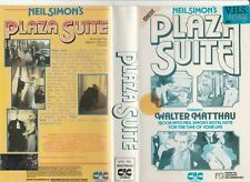 PLAZA SUITE WALTER MATTHAU MAUREEN STAPLETON BARBARA HARRIS  RARE PAL VHS VIDEO
