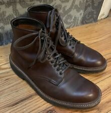 Alden Chromexcel Plain Toe Roy Boot Context 8 1/2 E