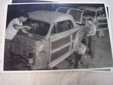 1946 MERCURY SPORTSMEN WOODY CONVERTIBLE ASSEMBLY LINE   11 X 17  PHOTO  PICTURE