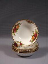 Royal Albert Old Country Roses Fruit Bowl Nappy England FIRST EDITION