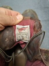 Red Wing Boots Vintage - 10 steel safety toe Vibram sole