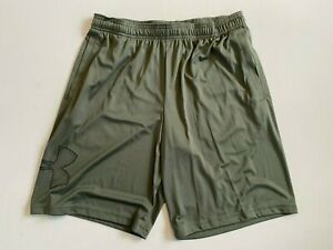 Under Armour New Men's Large Woven Knit Basketball Shorts 1306443