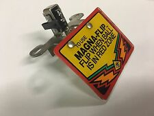 Twilight Zone Pinball Machine Mini Playfield Sign and Switch Assembly