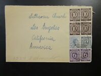 Germany 1947 Cover to USA / Small Top Tear - Z6552