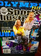 SPORTS ILLUSTRATED Arielle  GOLD/JAMIE ANDERSON OLYMPIC PREVIEW Autograph Signed