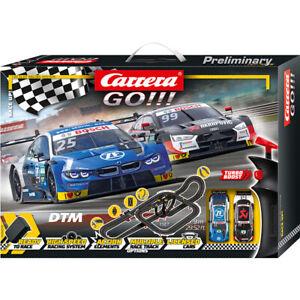 Carrera GO!!! Rennbahn DTM Race Up! Set / Grundpackung 62520 Autorennbahn