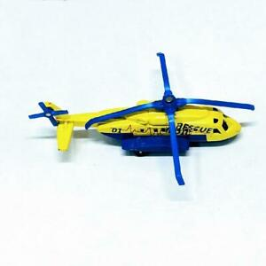 2009 Matchbox Medic Rescue Sikorsky S-92 Diecast Helicopter Thailand Yellow GC
