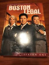 Boston Legal - Season 1 (DVD, 2009, 5-Disc Set) James Spader, William Shatner