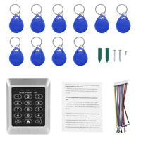 New RFID Door Proximity ID Card Password Reader Access Controller Keypad SS