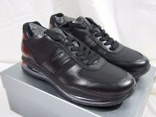 PRADA Black Leather Air Sole Runner Men's size 11 US / 10 IT